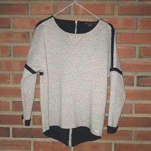 Armani exchange hi lo sweater XS Excellentzip back